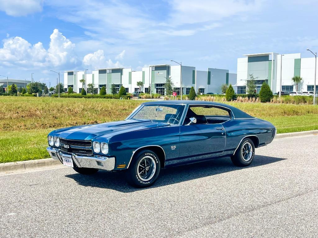 1970 Chevrolet Chevelle Ss Matching Numbers And Build Sheet